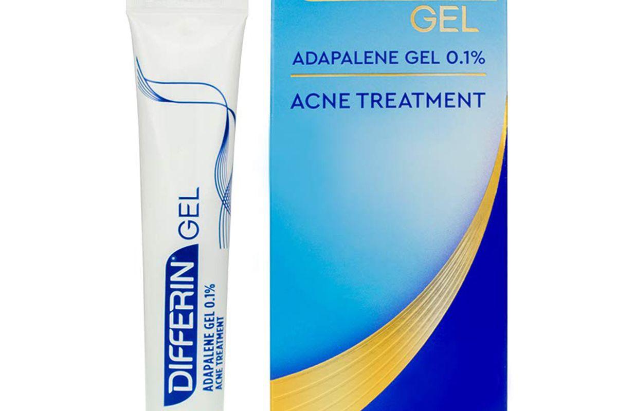 differin adapalene prescription strength retinoid gel acne treatment