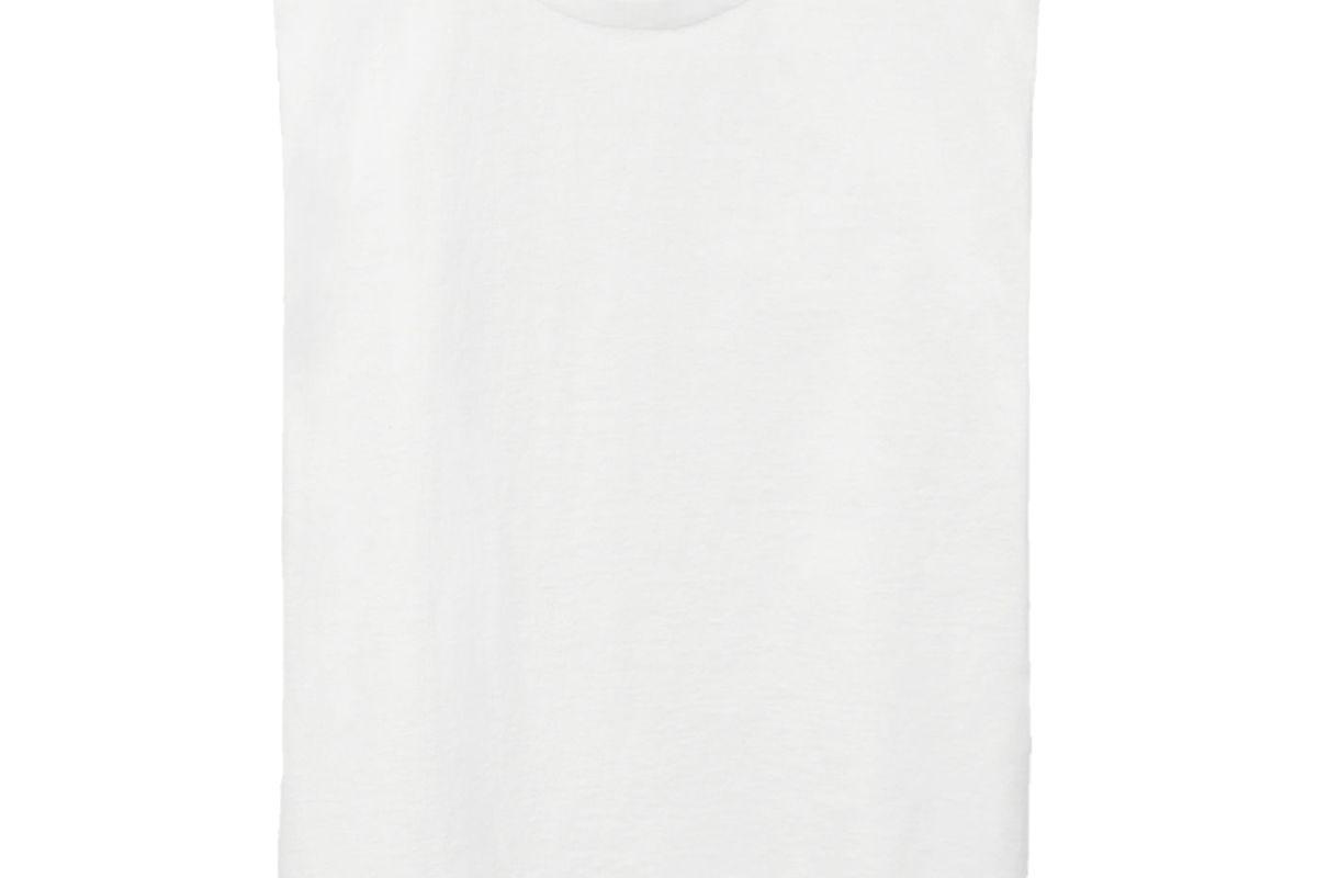 cos sleeveless organic cotton t-shirt
