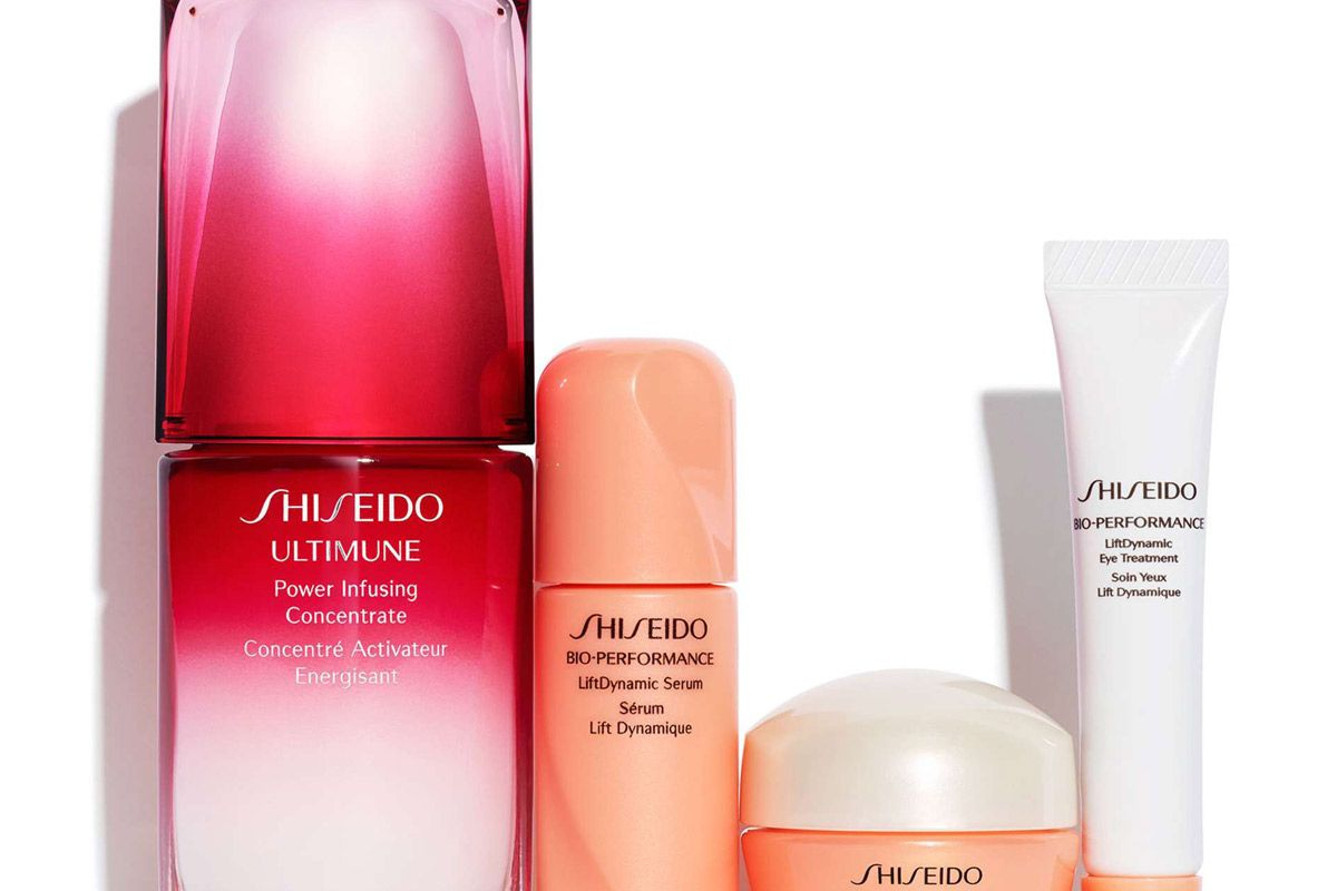 shiseido the ultimate lifting routine set