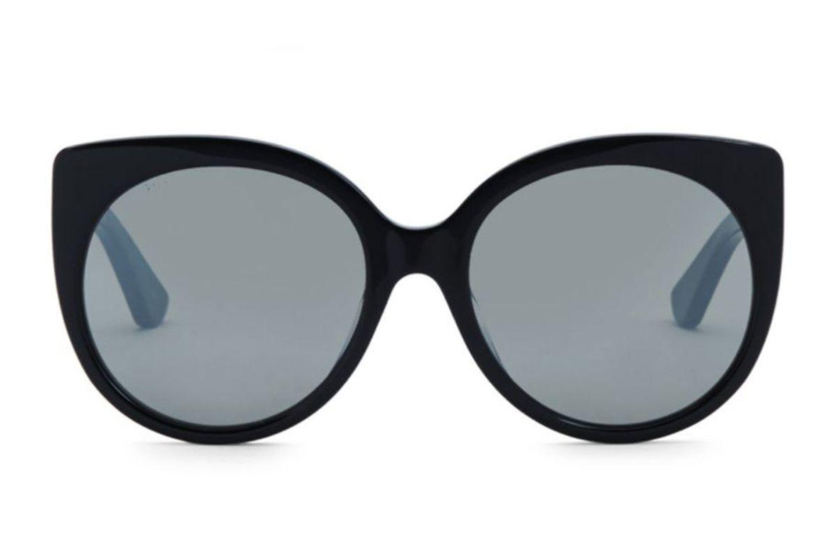 gucci cat eye sunlgasses