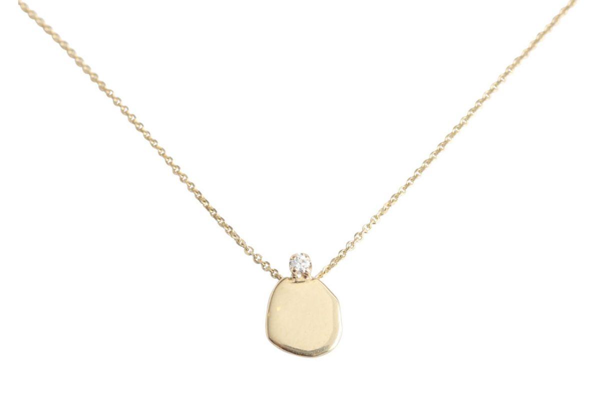 wwake diamond slip necklace