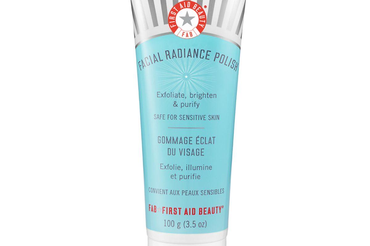 first aid beauty facial radiance polish