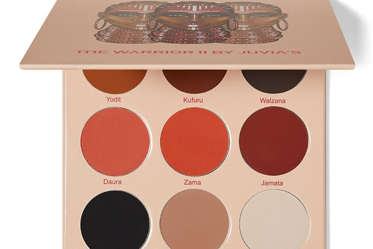 juvias place warrior ii eyeshadow palette
