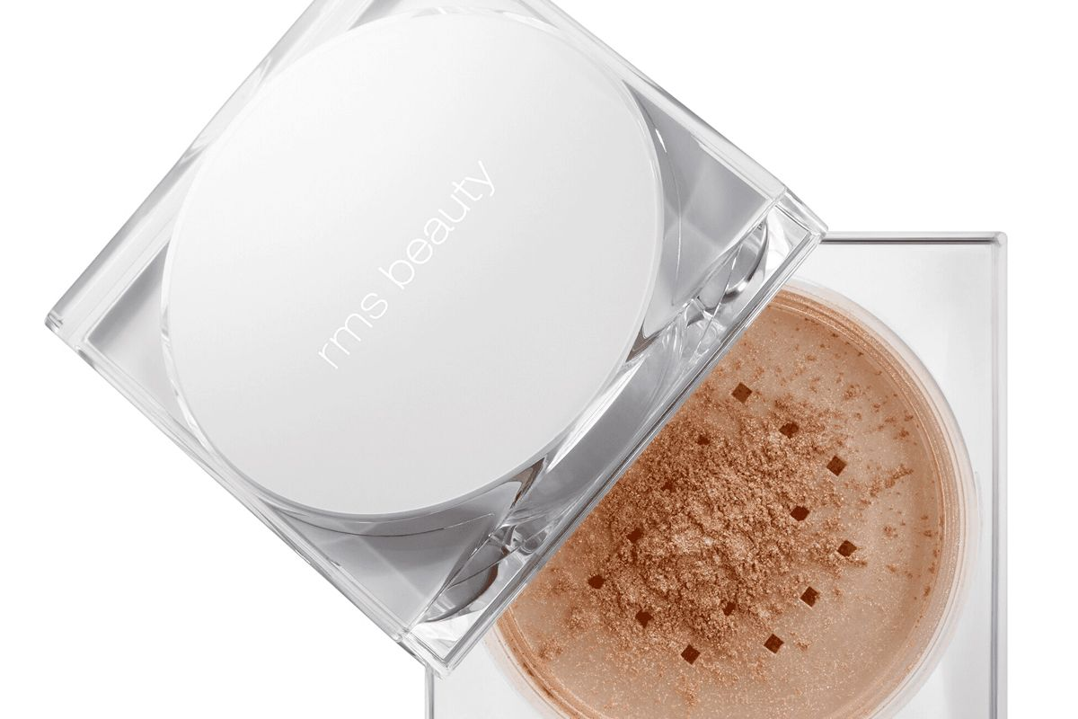 rms beauty living luminizer glow face and body powder