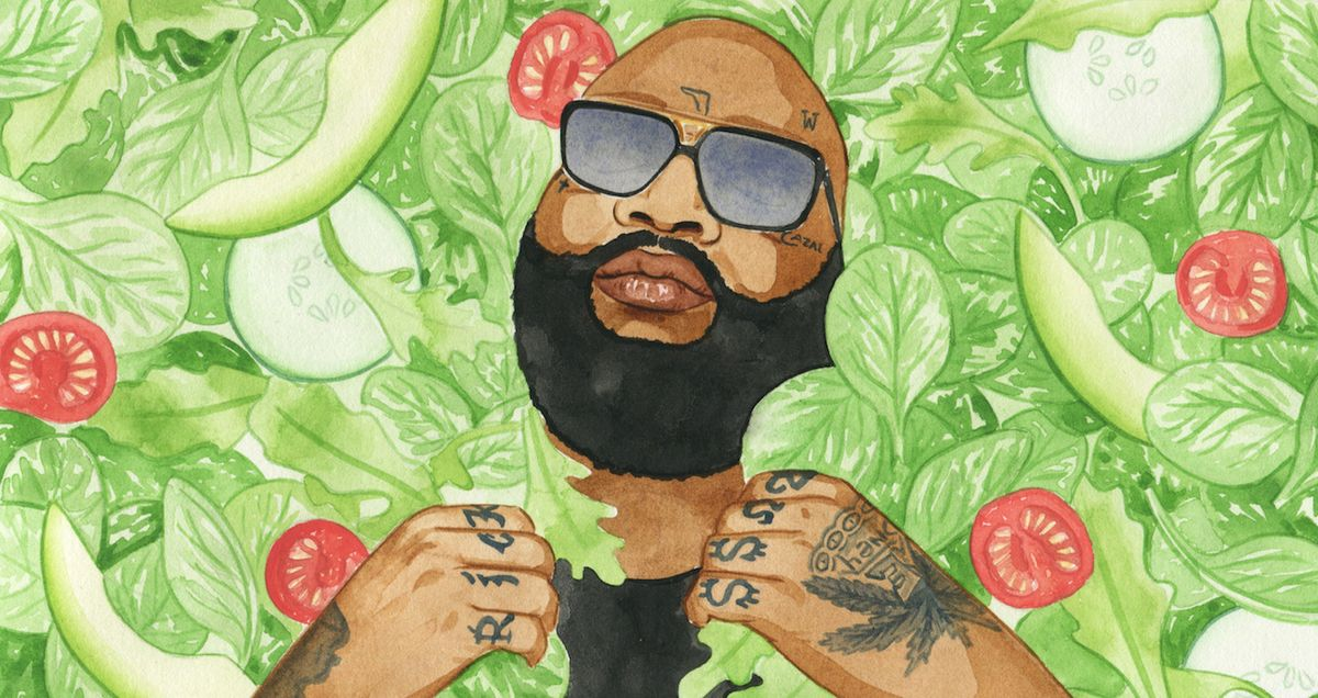 Rick Ross's Favorite Salad (& How to Make It)