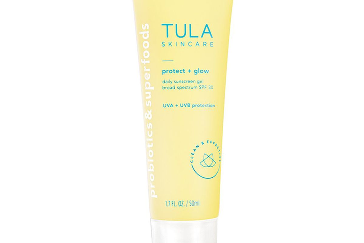 tula protect and glow daily sunscreen gel broad spectrum spf 30