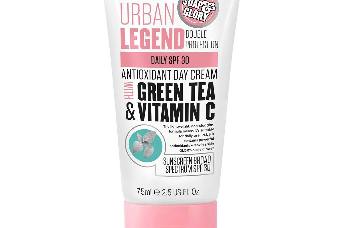 soap and glory urban legend double protection antioxidant day creamdaily spf 30