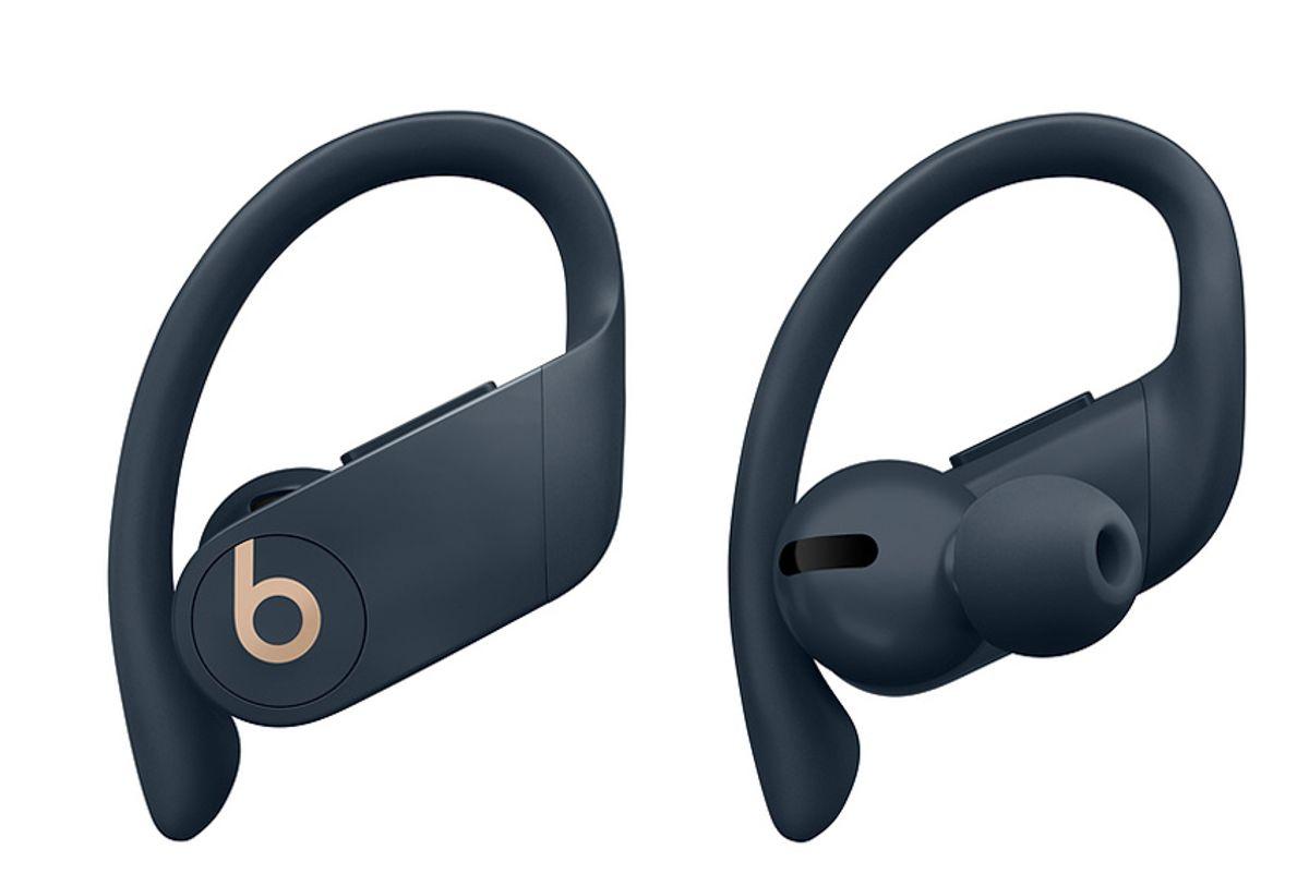 powerbeats pro totally wireless earphones navy