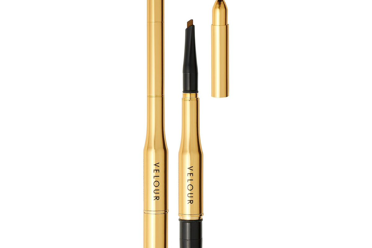 velour lashes fluff n brow pencil 3 in 1 brow pencil and balm