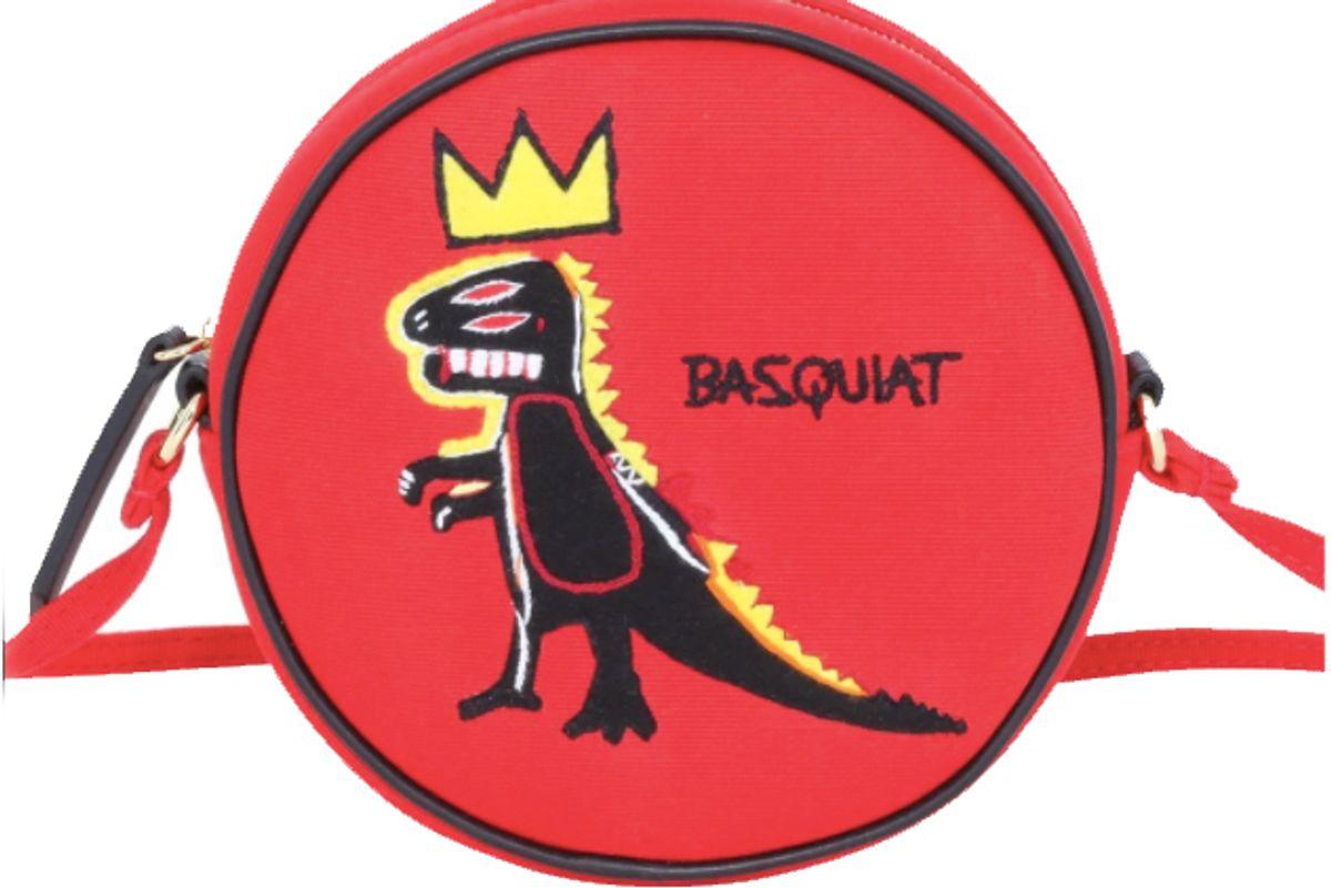 olympia le-tan basquiat dinosaur bag