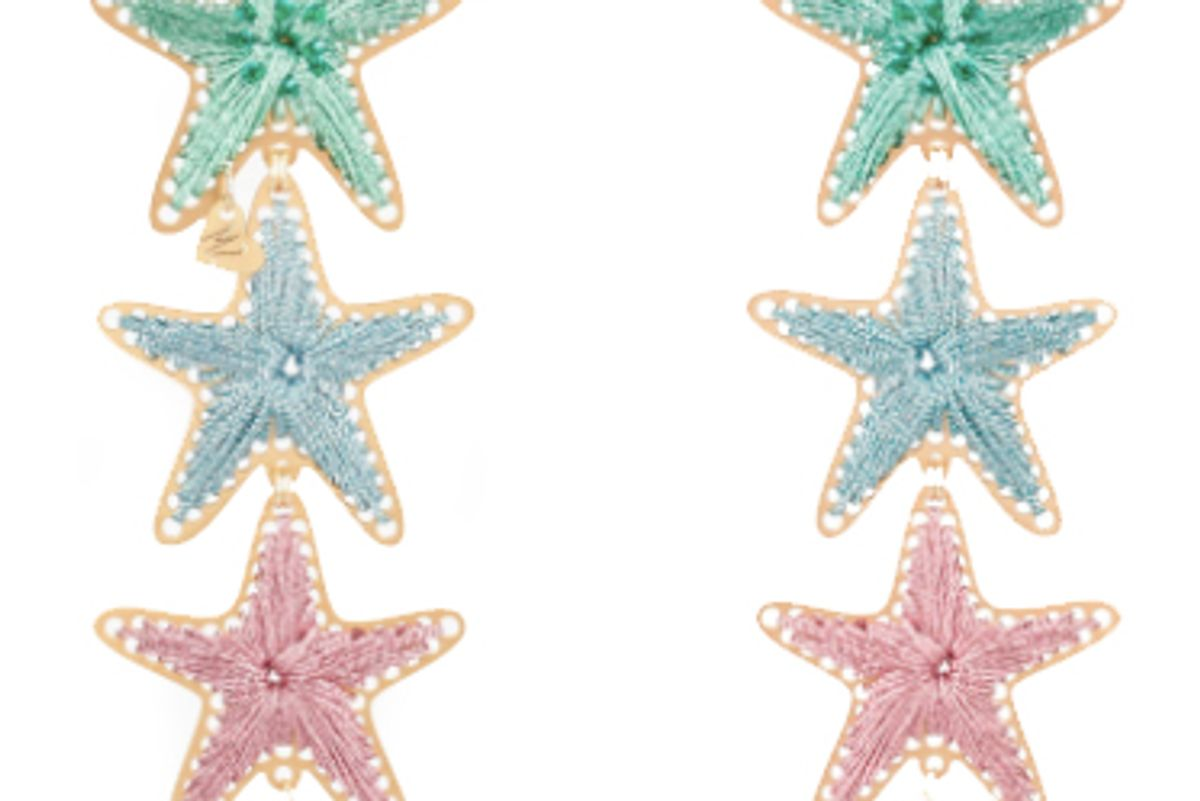 mercedes salazar starry thread earrings