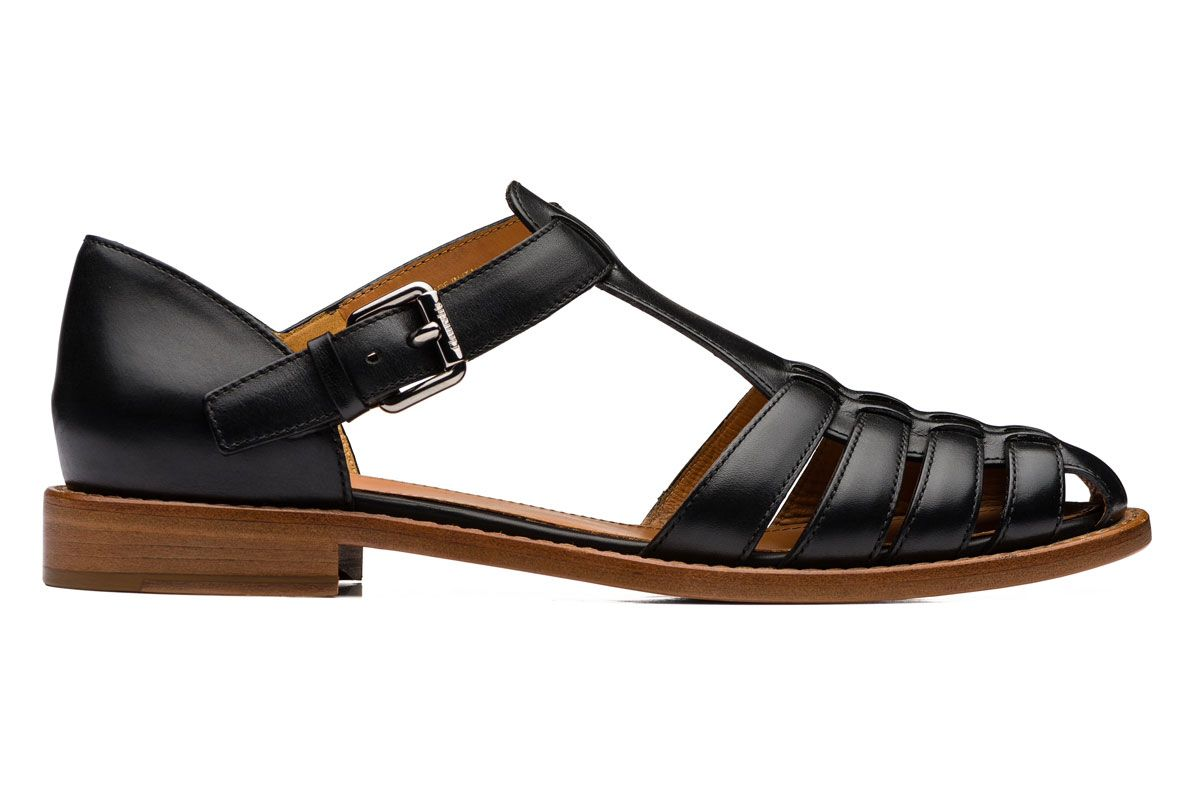 churchs kelsey prestige calf leather sandal
