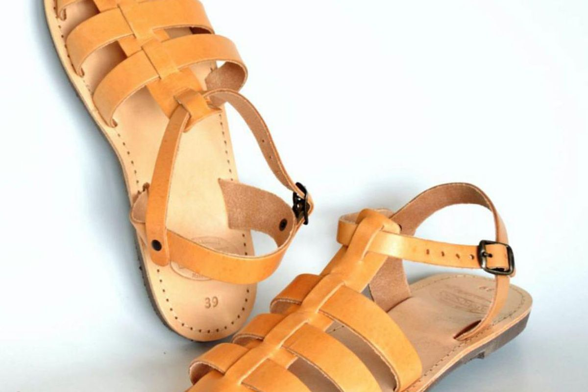 ananiassandals ananias greek roman leather sandals for women