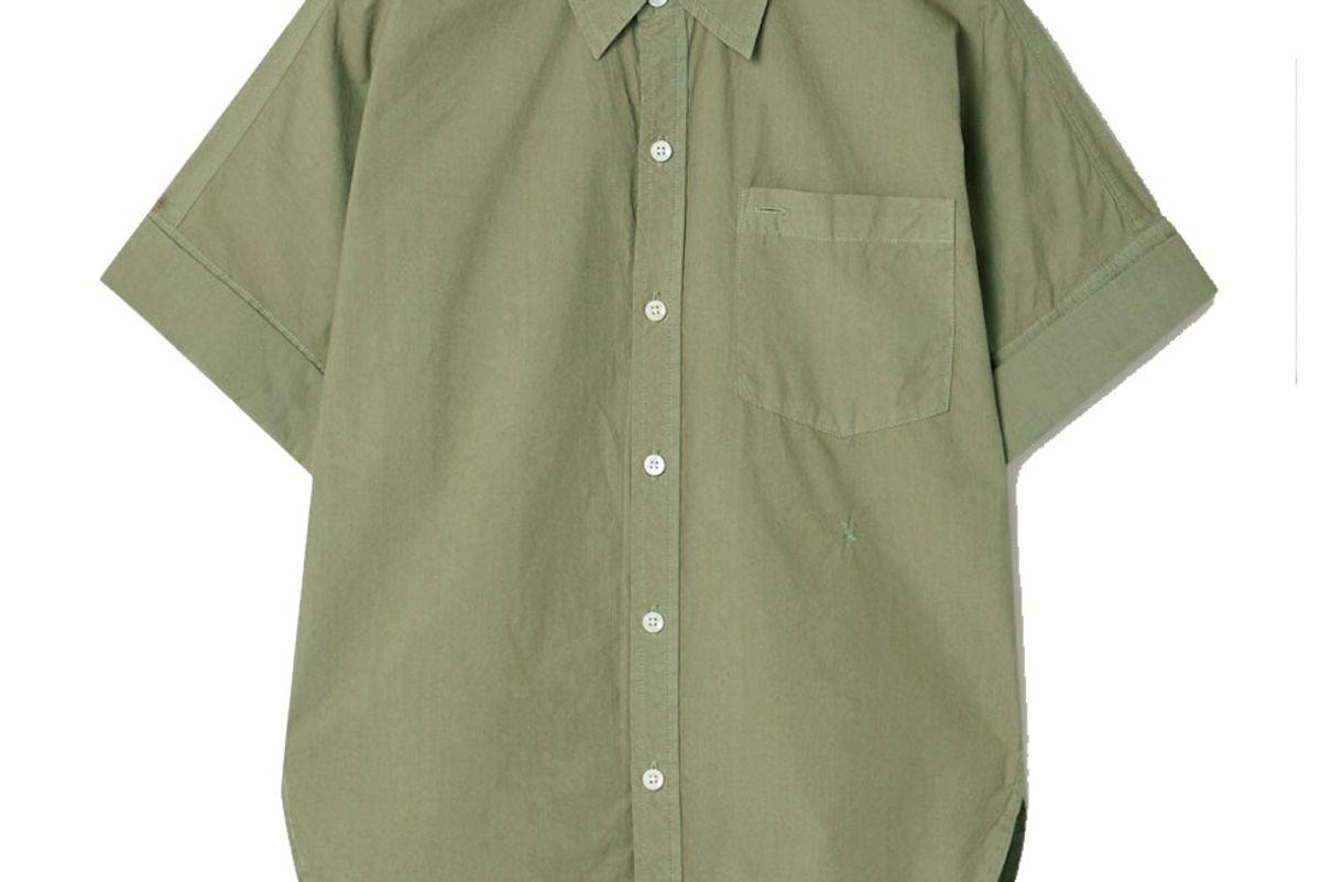 alex mill charlie cotton poplin shirt