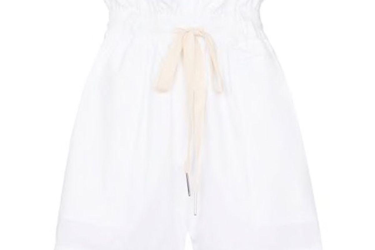 lee matthews dwight paperbag shorts