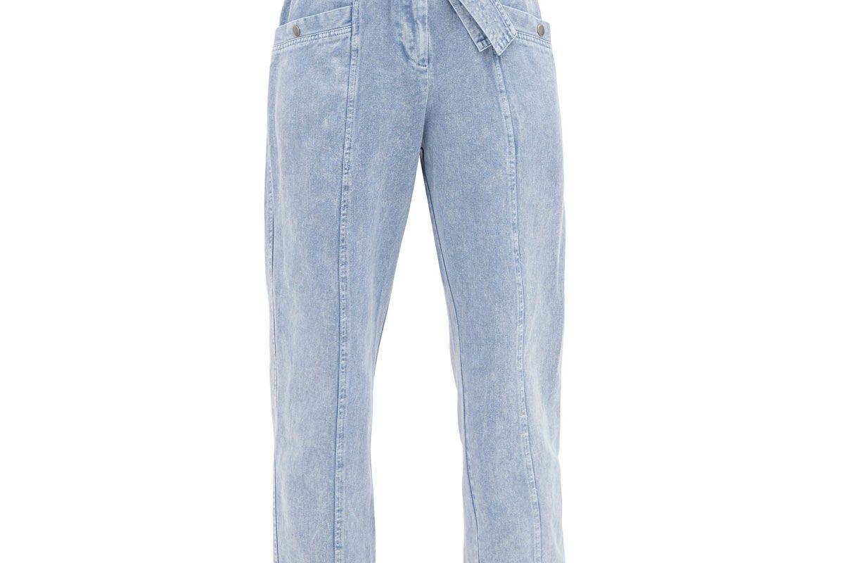 sea idun high rise paperbag waist jeans