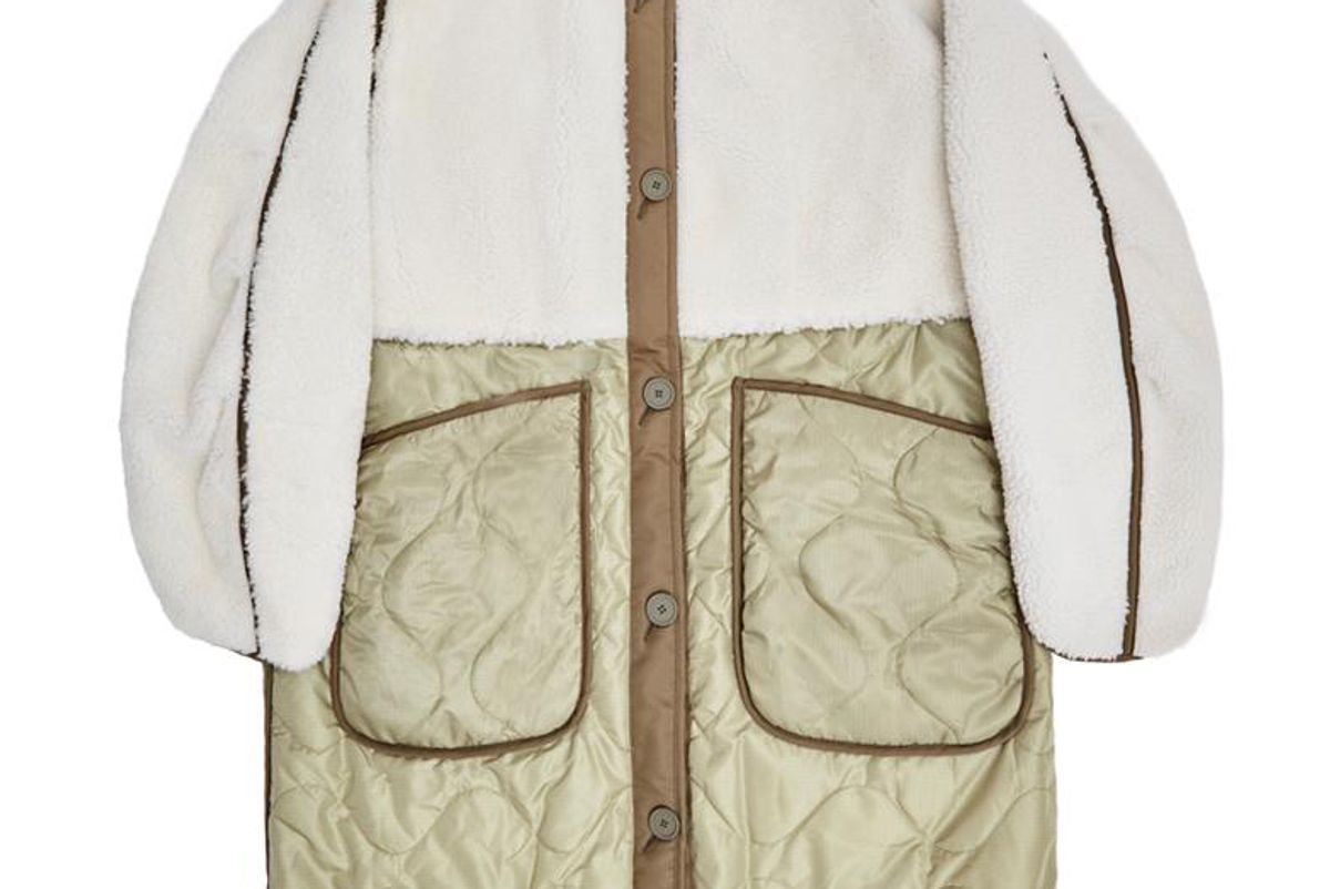 marfa stance the reversible shearling combo quilt