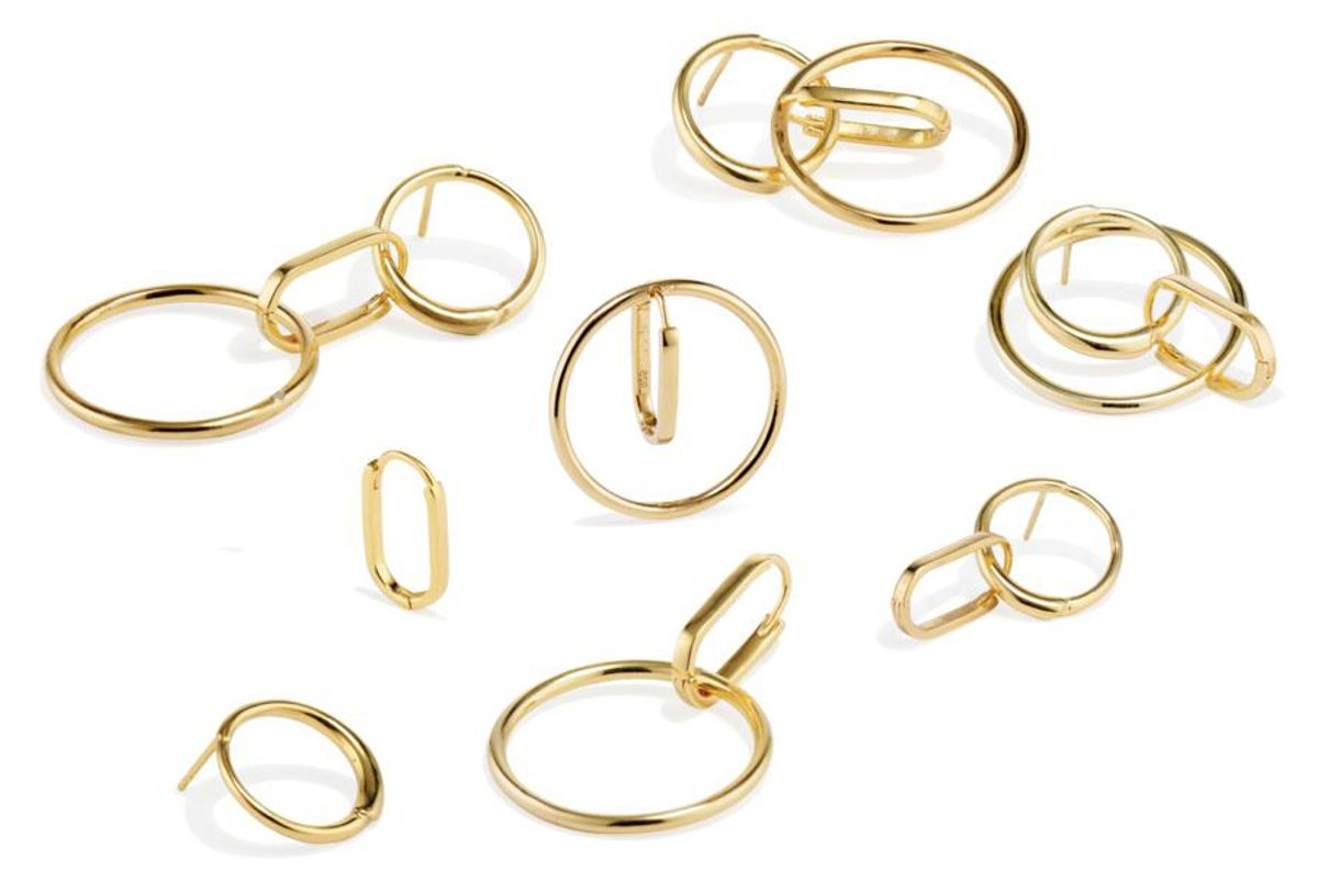 senia infinity earrings