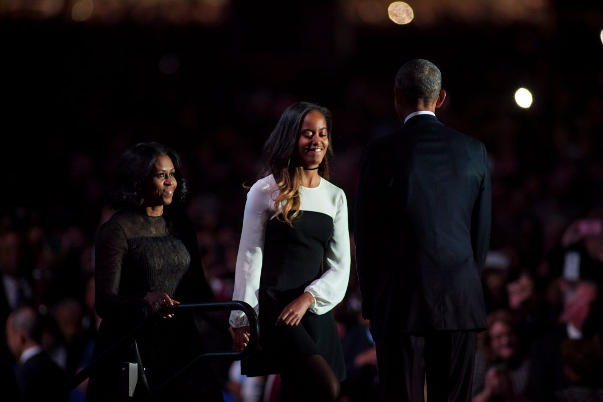 Malia Obama is Taking Fashion Cues from Her Mom