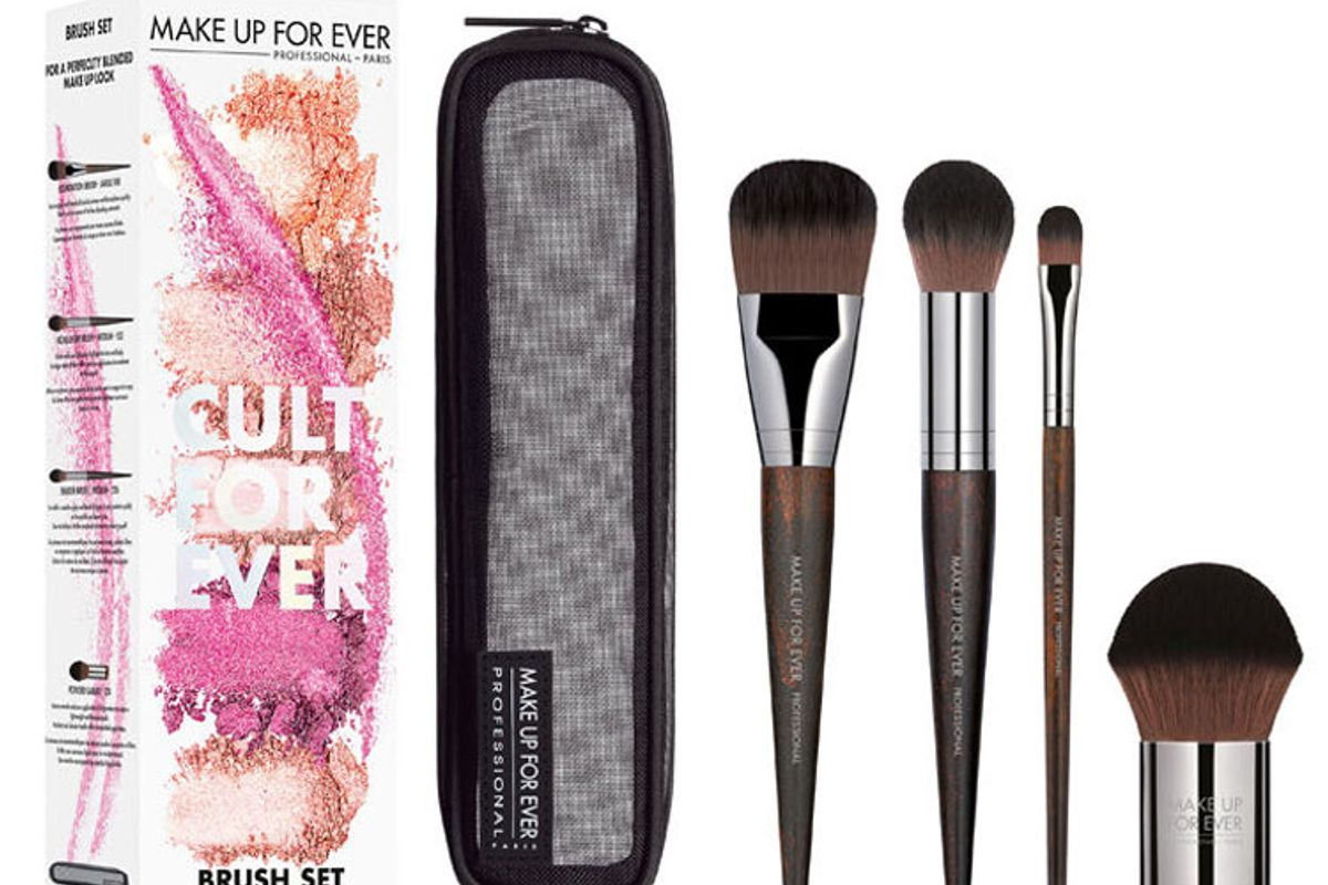 make up for ever cult for ever brush set