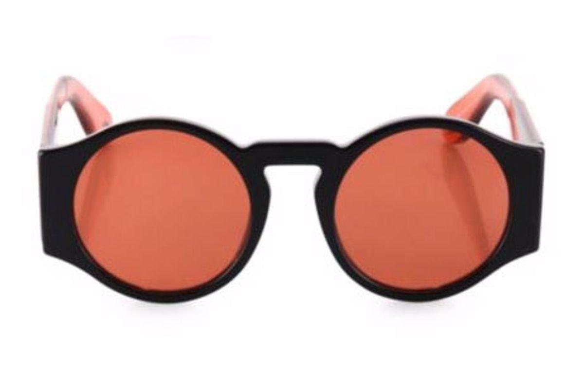 51MM Runway Round Sunglasses