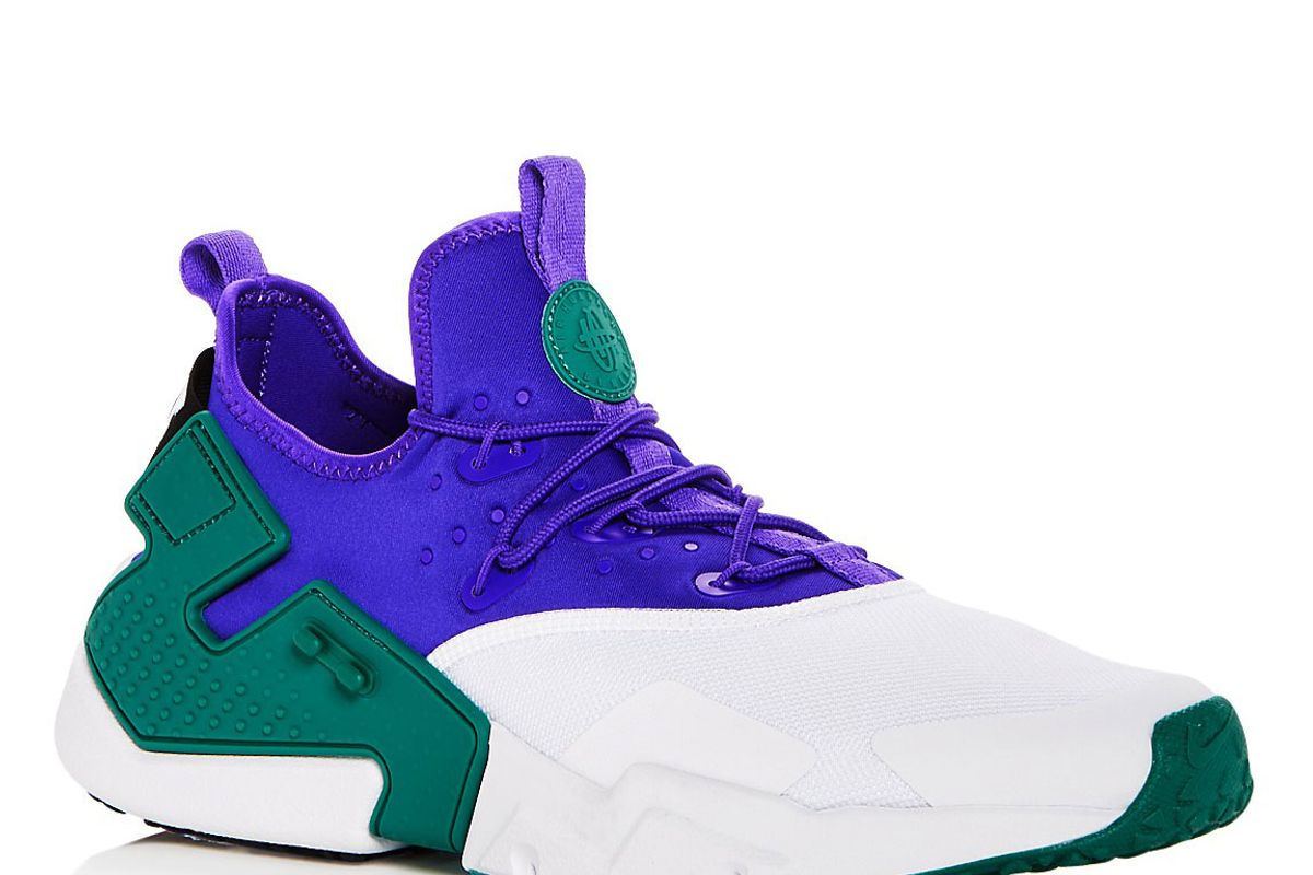 nike air huarache drift lace up sneakers
