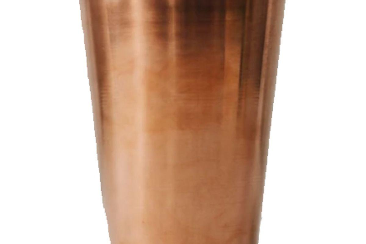 this copper tumbler