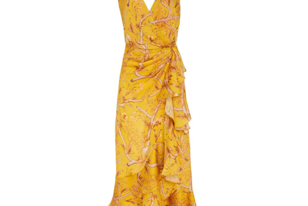 johanna ortiz milagro de miel wrap dress