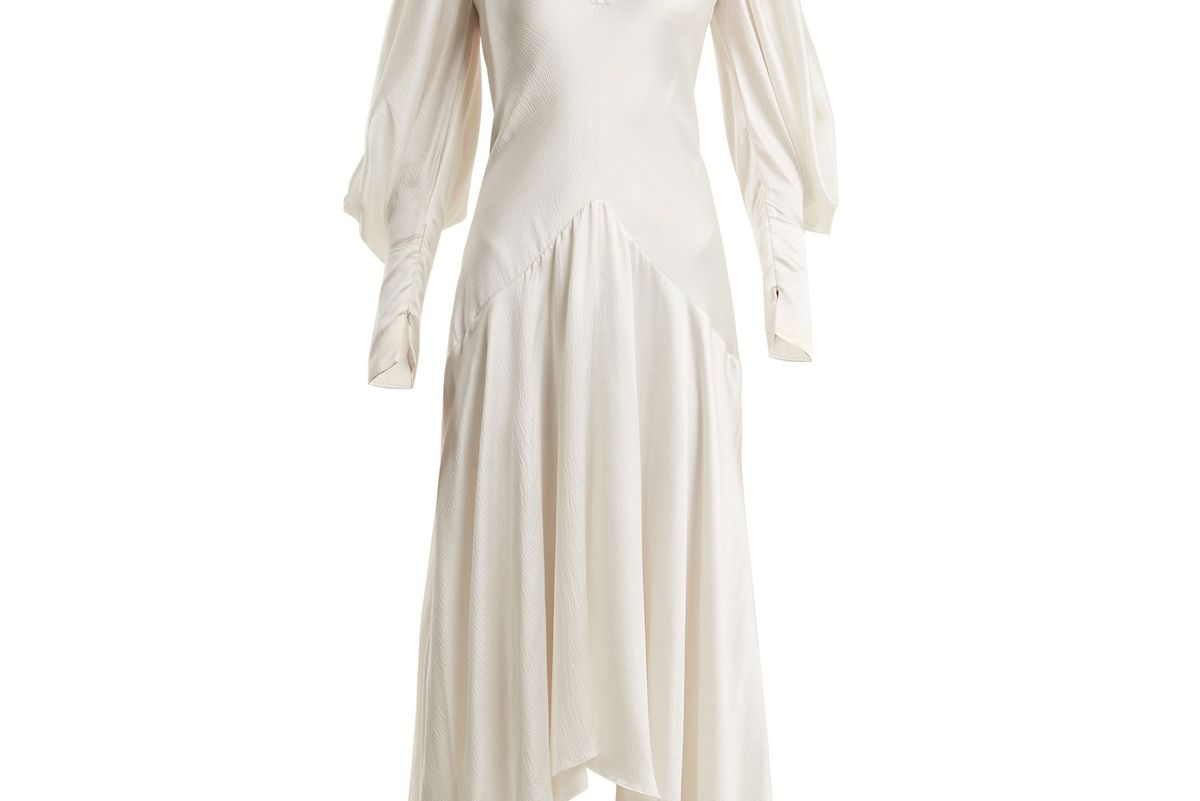 roksanda zenku silk dress