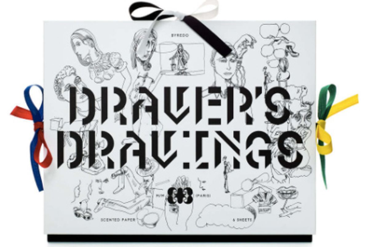 Drawer's Drawing 6 Sheets Scented Paper