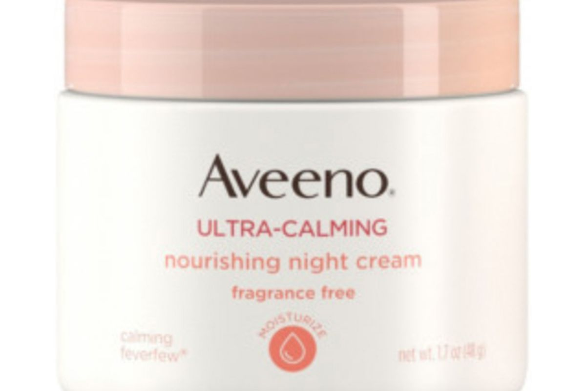 aveeno ultra claming nourishing night cream