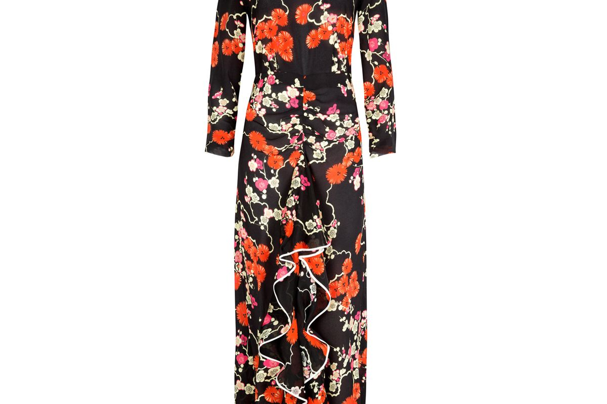 Lucy Dress in Blossom Tree