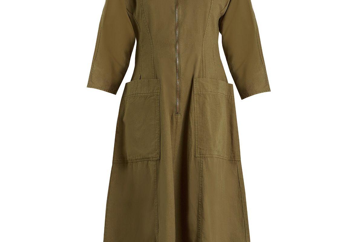 Fernwood Cotton Midi Dress