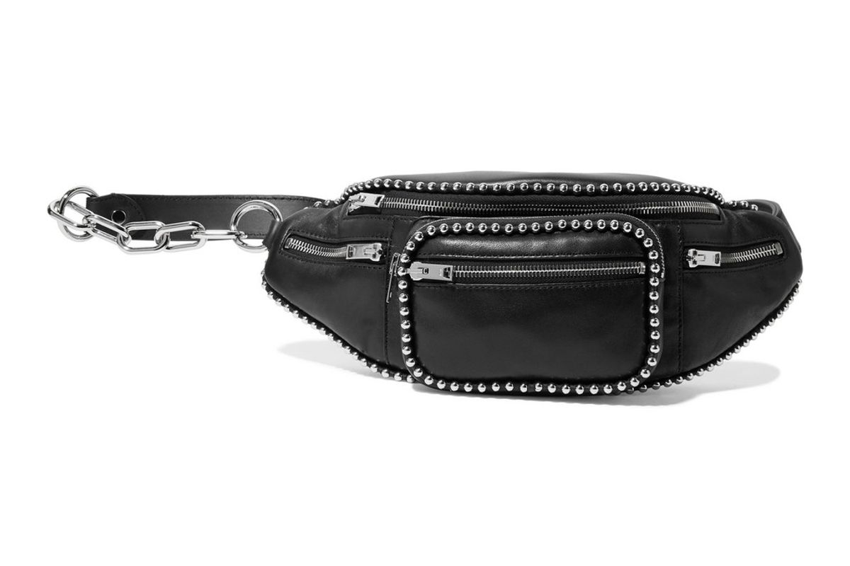 alexander wang attica studded leather belt bag