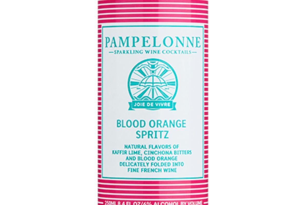 pampelonne blood orange cans