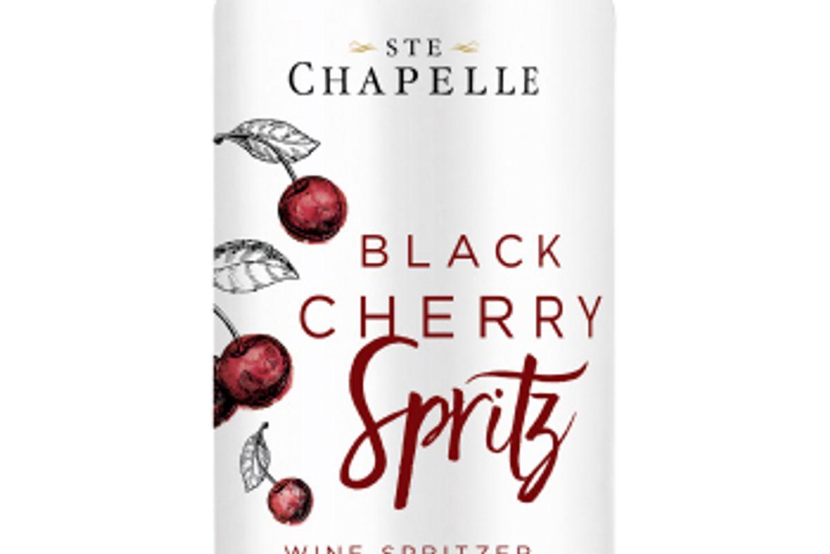 ste chapelle black cherry spirtz can