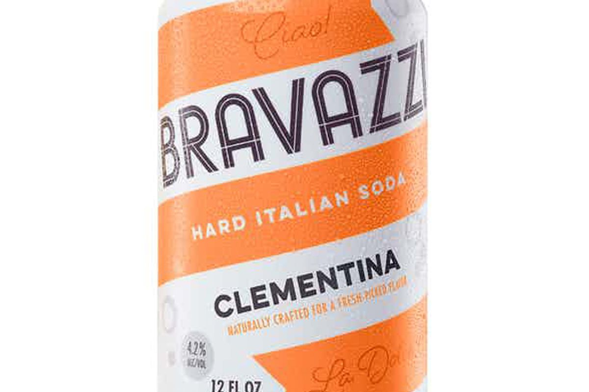 bravazzi hard italian soda clementina