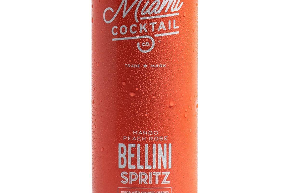 miami cocktail co organic bellini spritz