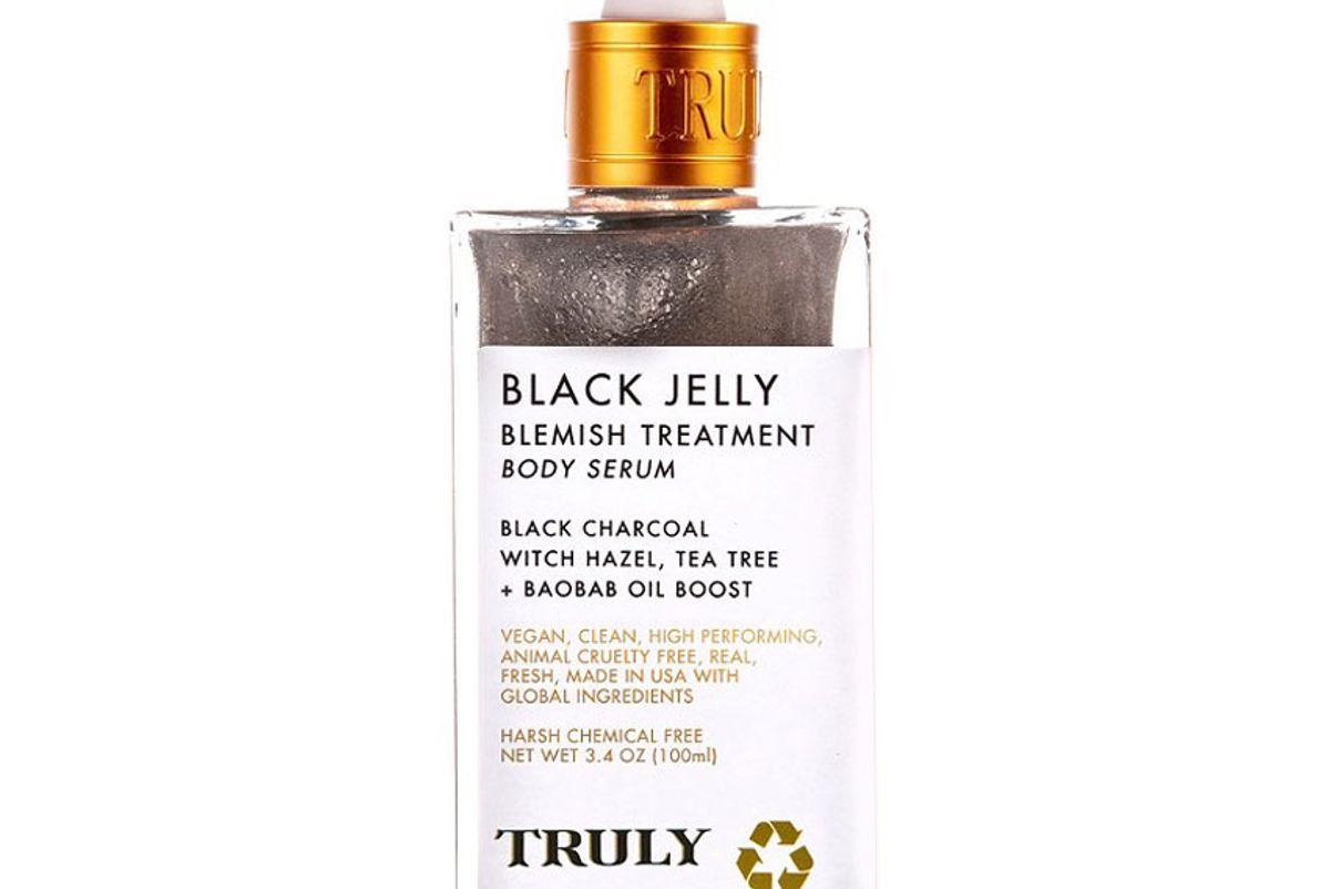 truly black jelly blemish treatment body serum