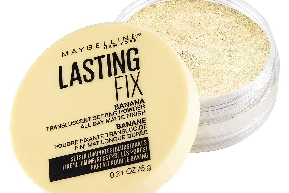 maybelline banana powder