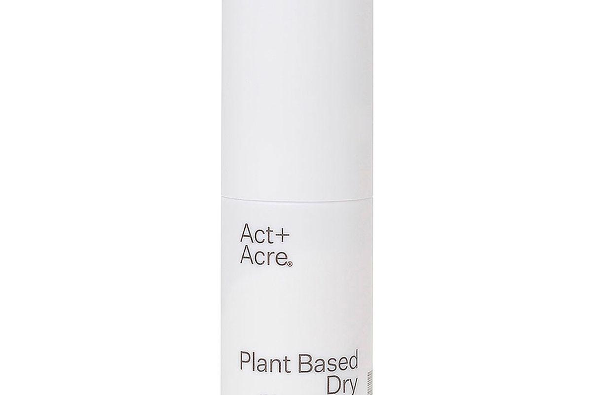 act acre plant based dry shampoo