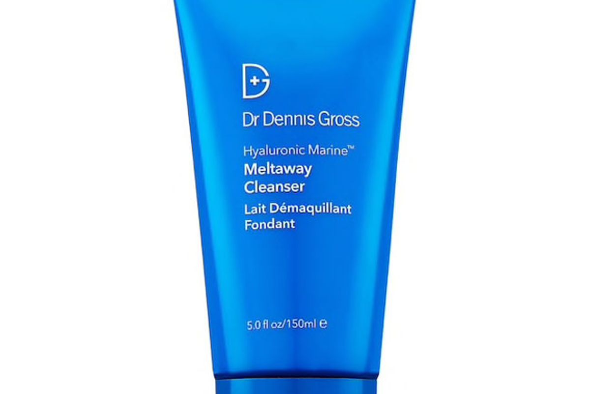 dr dennis gross hyaluronic marine makeup removing meltaway cleanser