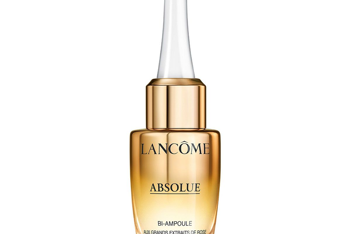 lancome absolue overnight repairing bi ampoule concentrated anti aging serum