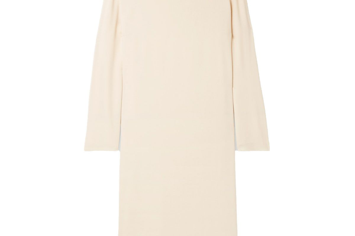 the row larina crepe dress