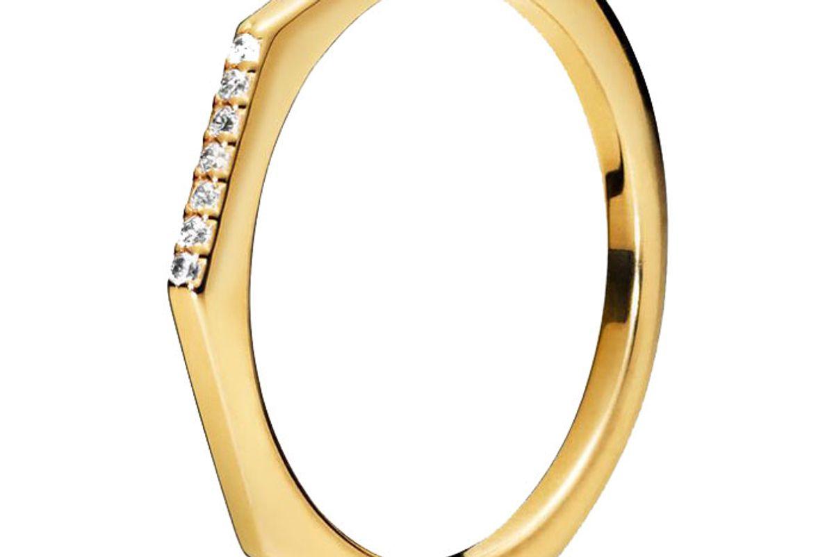 pandora multifaceted ring