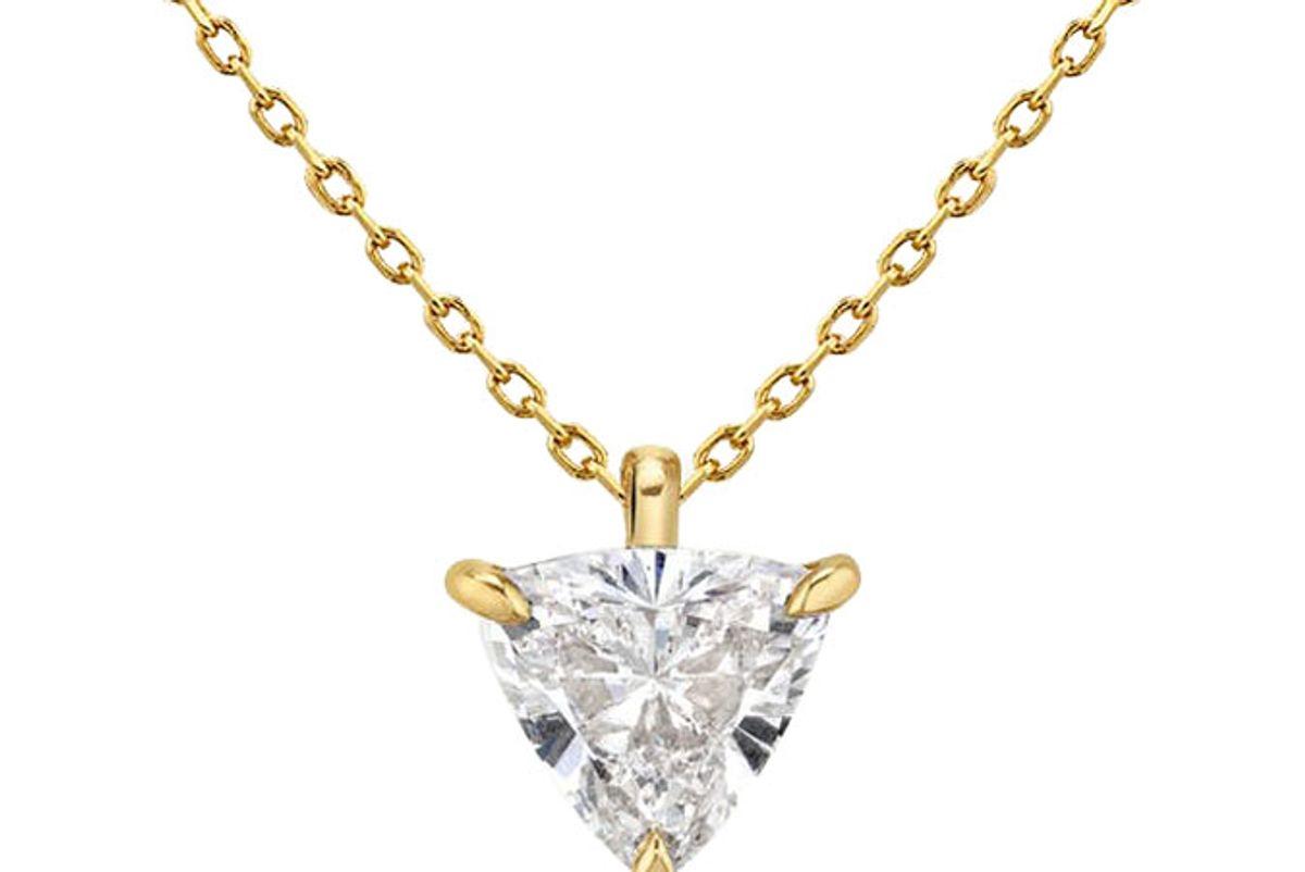 vari solitare diamond pendant