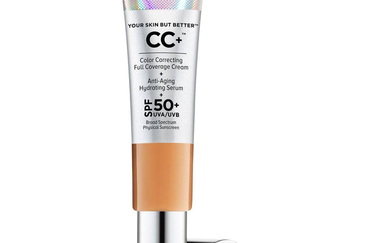it cosmetics cc plus cream with spf 50 plus