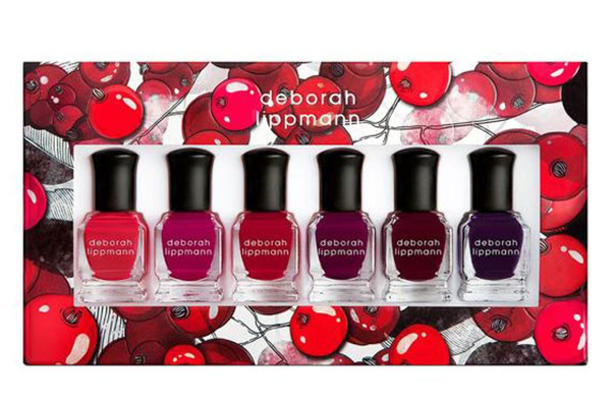 deborah lippmann very berry shades of berries 6 piece set