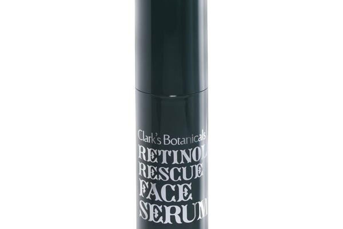 clarks botanicals retinol rescue face serum