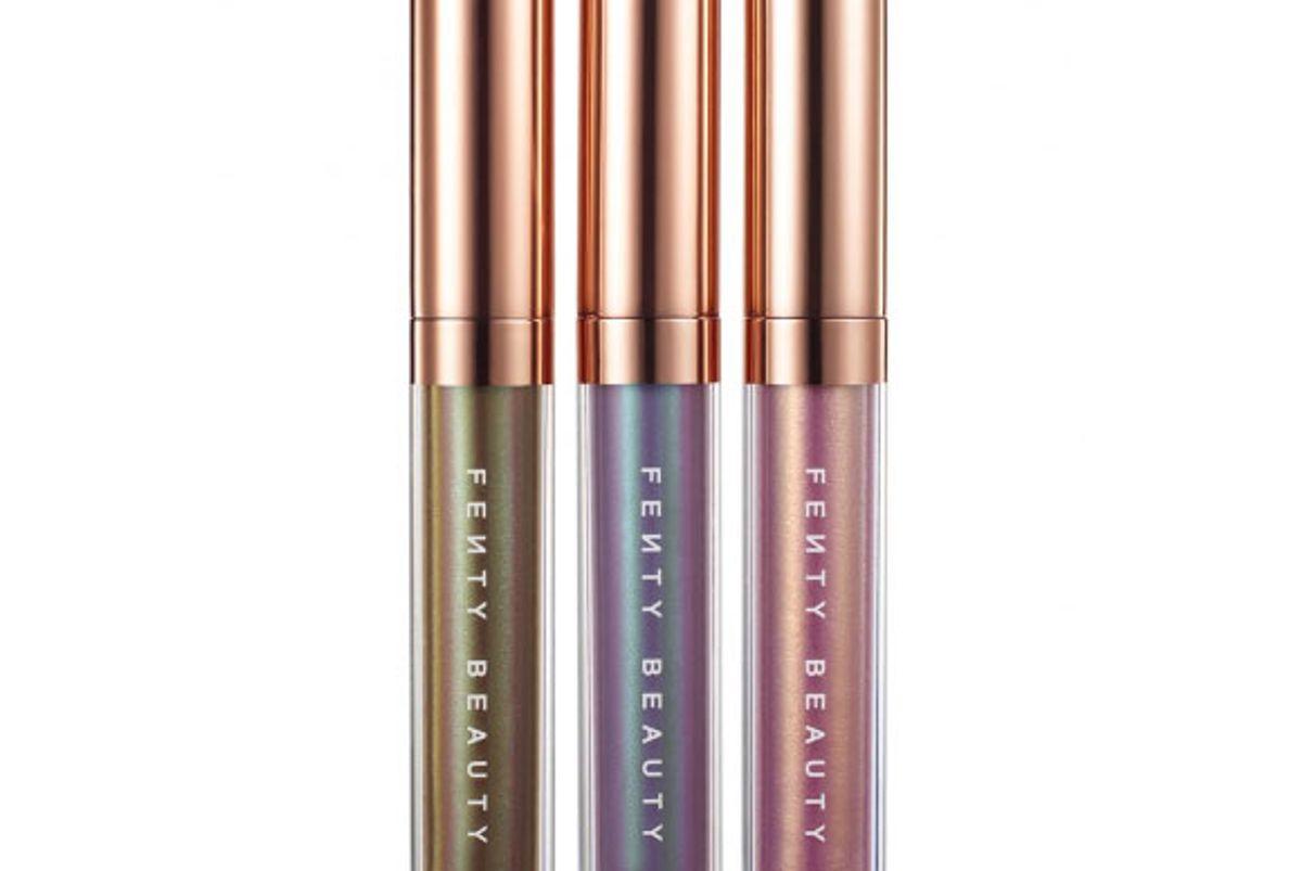 fenty summer nights iridescent lip luminizer trios